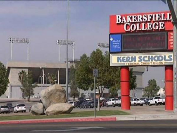Bakersfield College Nursing Program Campus Sign